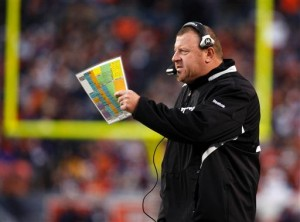 Oakland Raiders head coach Tom Cable