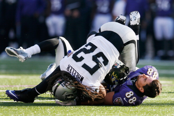 Raiders Romped in Baltimore by the Ravens 55-20