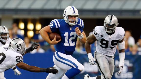 Raiders Comeback Falls Short: Lose 21-17 to Colts