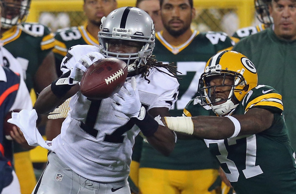 Oakland Raiders v Green Bay Packers