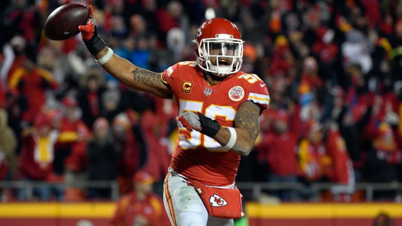 Raiders Coach Jon Gruden Bragging About Inking Chiefs All-Time Leader in Tackles Derrick Johnson